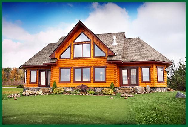 Pin log homes for sale in evergreen conifer golden denver for Colonial log homes